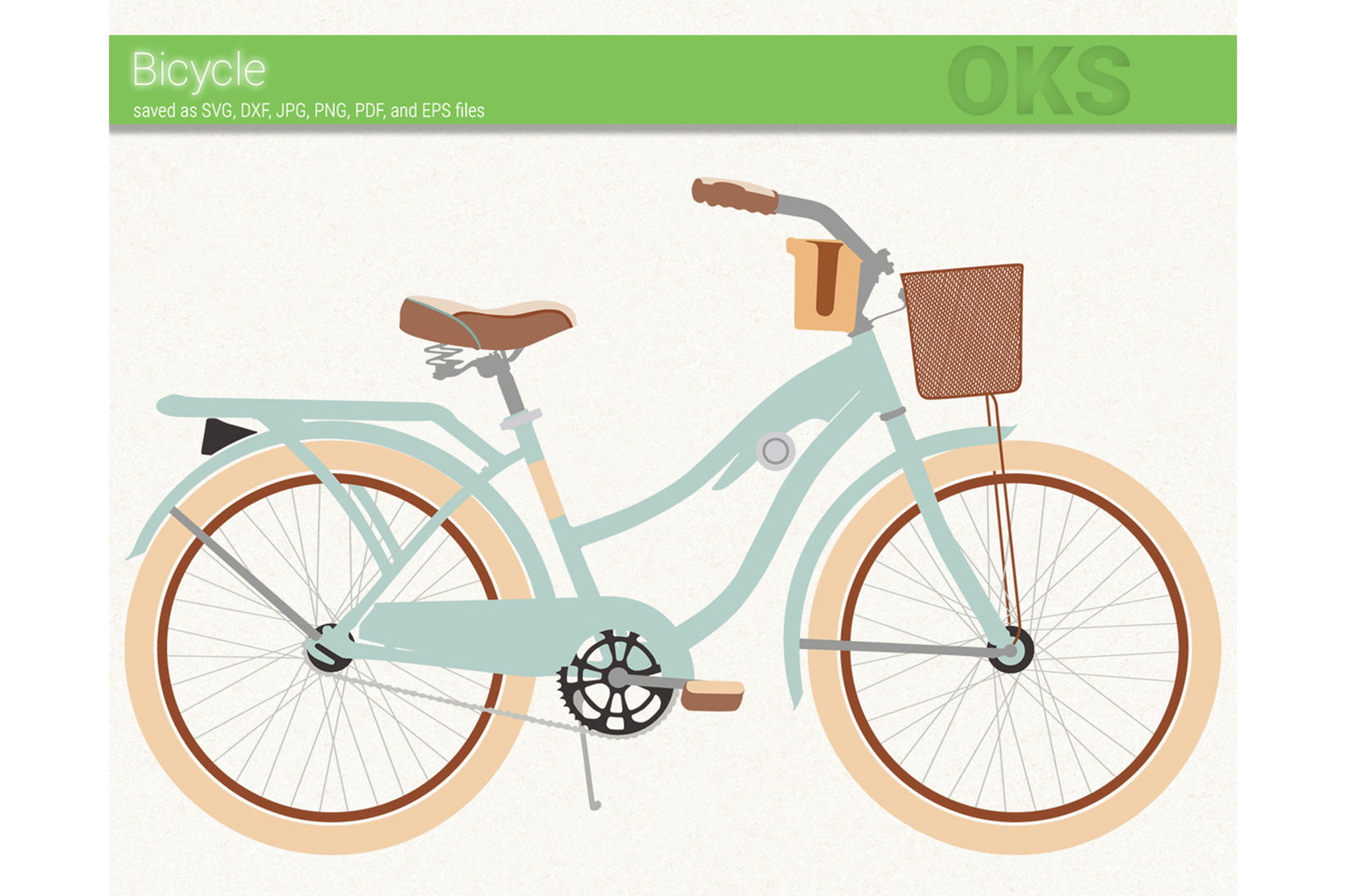 Download Free Bicycle Graphic By Crafteroks Creative Fabrica for Cricut Explore, Silhouette and other cutting machines.
