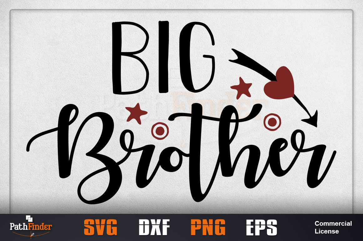 Download Free Big Brother Graphic By Pathfinder Creative Fabrica for Cricut Explore, Silhouette and other cutting machines.