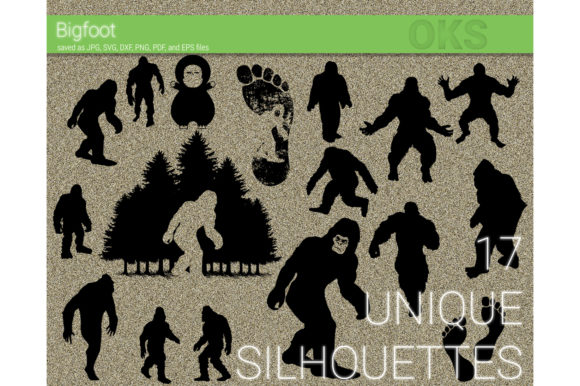 Download Free Bigfoot Big Foot Svg Vector Clipart Graphic By Crafteroks for Cricut Explore, Silhouette and other cutting machines.
