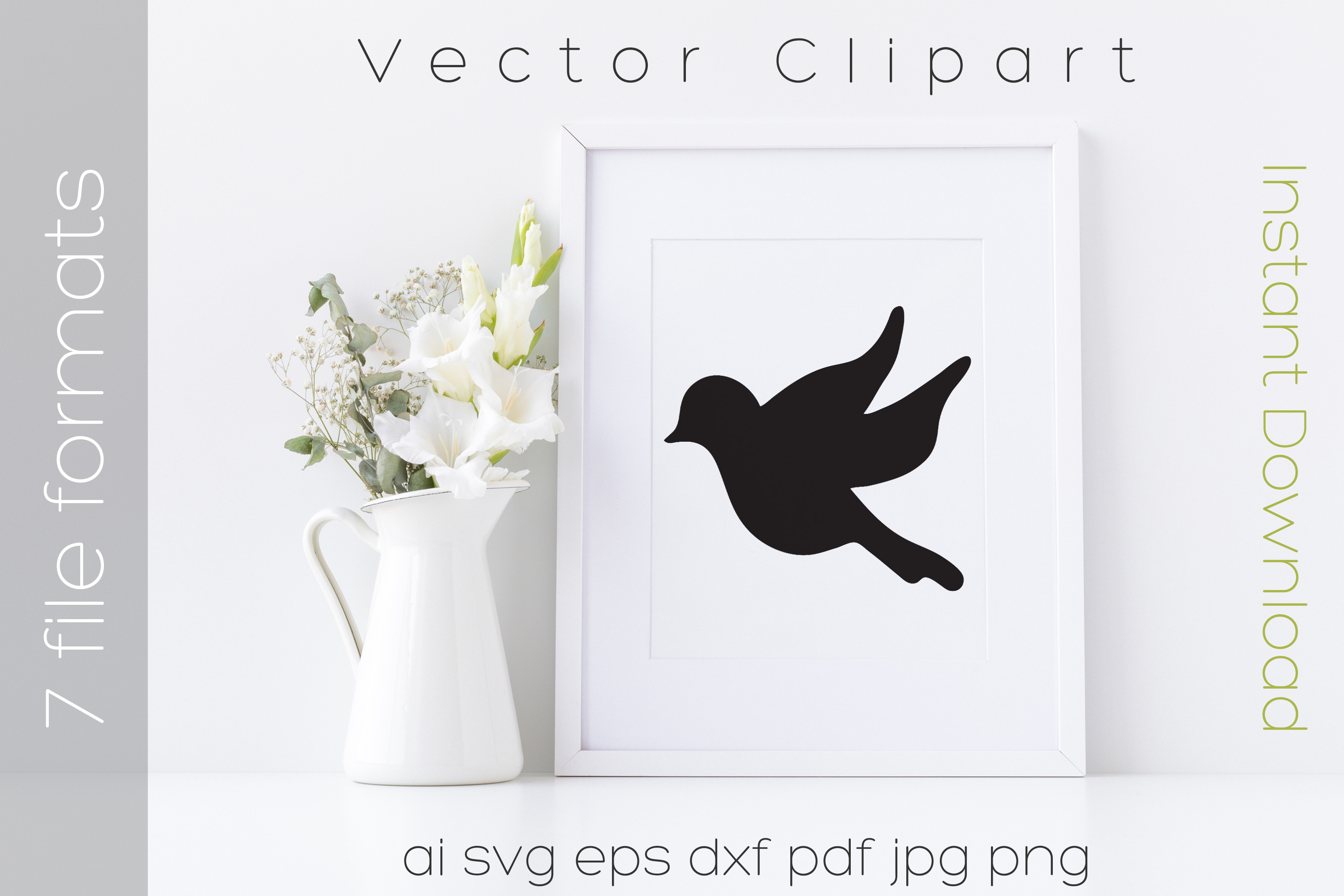 Download Free Bird Svg Black Clipart Drawing Vector Graphic By Ibeartoo for Cricut Explore, Silhouette and other cutting machines.