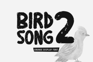 Print on Demand: Birdsong Two Display Font By FontCove