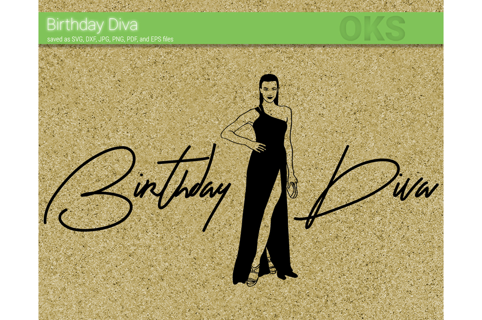 Download Free Birthday Diva Vector Graphic By Crafteroks Creative Fabrica for Cricut Explore, Silhouette and other cutting machines.