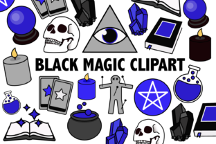 Black Magic Clipart Graphic By Mine Eyes Design