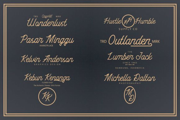 Black Roasters Font By Adriansyah Image 3