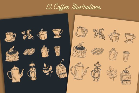 Black Roasters Font By Adriansyah Image 6