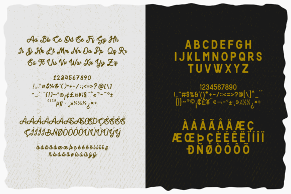 Print on Demand: Blackcode Display Font By Abodaniel - Image 14