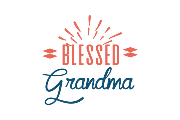 Download Free Blessed Grandma Quote Svg Cut Graphic By Thelucky Creative Fabrica for Cricut Explore, Silhouette and other cutting machines.