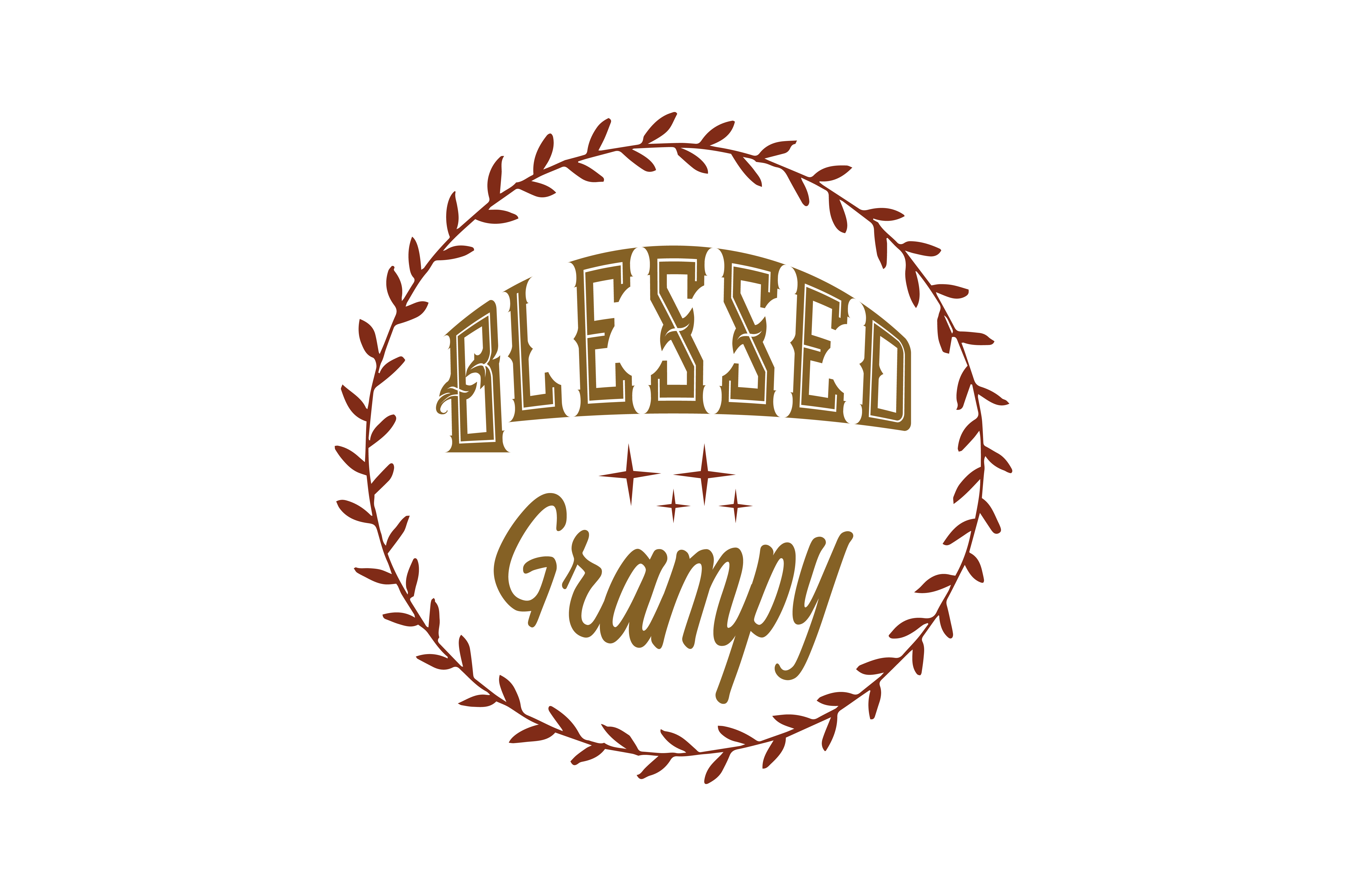 Download Free Blessed Grampy Quote Svg Cut Graphic By Thelucky Creative Fabrica SVG Cut Files