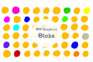 Blobs Font By GraphicsBam Fonts