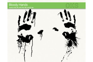 Download Free Bloody Hands Svg Vector Graphic By Crafteroks Creative Fabrica for Cricut Explore, Silhouette and other cutting machines.
