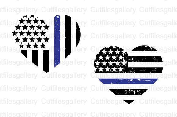 Download Free Blue Thin Line Heart Svg Graphic By Cutfilesgallery Creative Fabrica for Cricut Explore, Silhouette and other cutting machines.