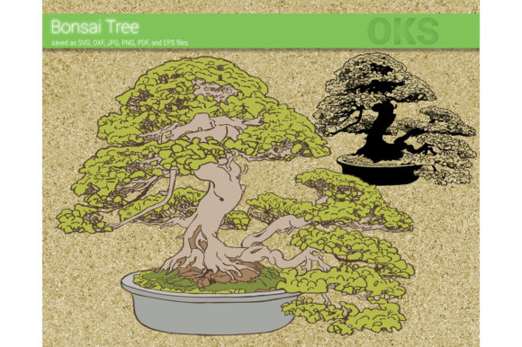 Download Free Bonsai Tree Svg Vector Graphic By Crafteroks Creative Fabrica for Cricut Explore, Silhouette and other cutting machines.