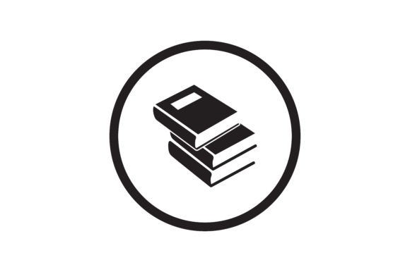 Books Icon Graphic Icons By Zafreeloicon