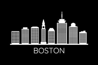 Download Free Boston Skyline Graphic By Marco Livolsi2014 Creative Fabrica for Cricut Explore, Silhouette and other cutting machines.