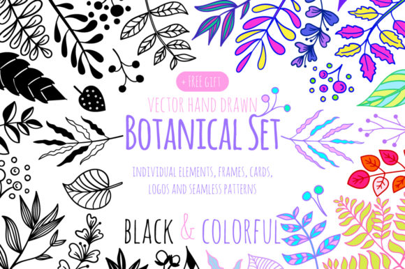 Botanical Design Set
