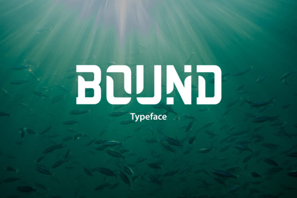 Print on Demand: Bound Display Font By da_only_aan - Image 1