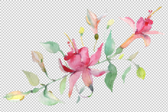 Download Free Bouquet Spring Wind Watercolor Png Graphic By Mystocks for Cricut Explore, Silhouette and other cutting machines.