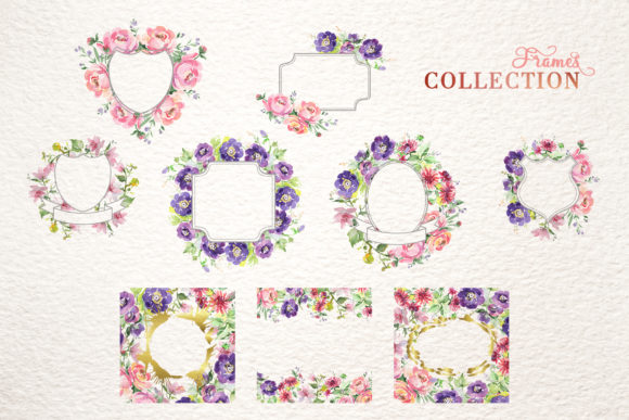 Print on Demand: Bouquet with Wildflowers Set Watercolor Graphic Illustrations By MyStocks - Image 5