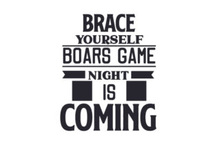 Brace Yourself, Boars Game Night is Coming Craft Design By Creative Fabrica Crafts