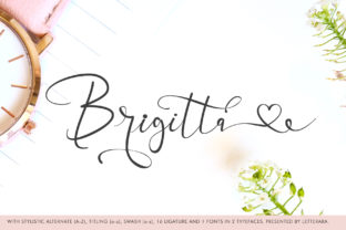 Brigitta Font By thomasaradea