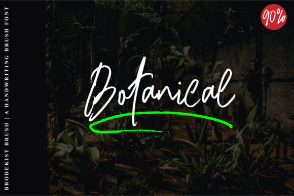 Print on Demand: Brodekist Script & Handwritten Font By Ijem RockArt - Image 2