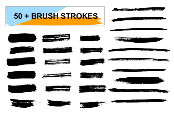 Brush Shapes & Strokes Graphic Illustrations By anatartan - Image 3