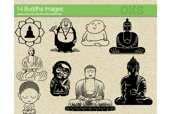 Print on Demand: Buddha Graphic Crafts By CrafterOks