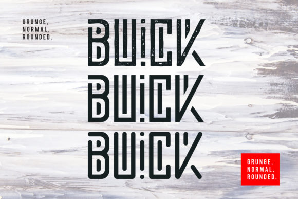 Download Free Buick Fuente Por Sandrifaqih Creative Fabrica for Cricut Explore, Silhouette and other cutting machines.
