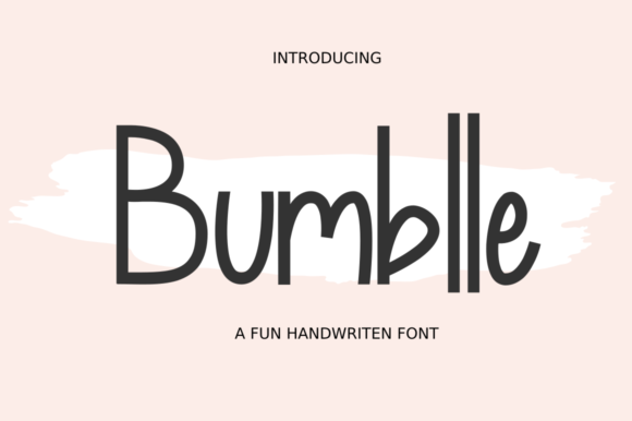 Print on Demand: Bumblle Sans Serif Font By Mang_Sv