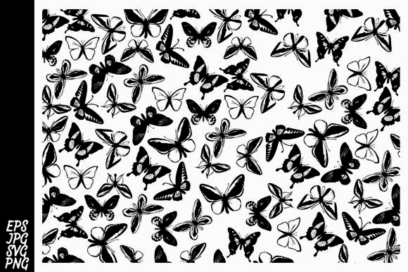 Print on Demand: Butterfly Pattern Graphic Patterns By Arief Sapta Adjie