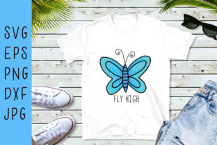 Butterfly SVG Graphic By carrtoonz