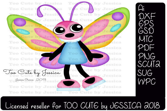 Butterfly Graphic Crafts By Sweet Southern Charms