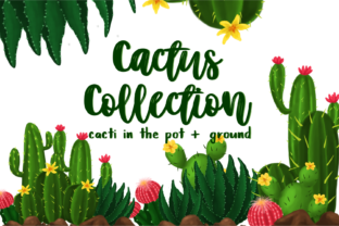 Cactus Collection Graphic By geadesign
