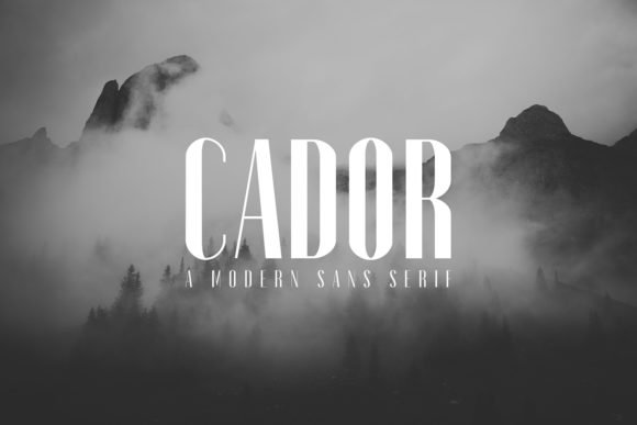 Print on Demand: Cador Sans Serif Font By Creative Tacos