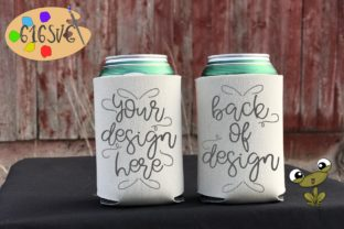 Camel Can Cooler Mockup Graphic Product Mockups By 616SVG