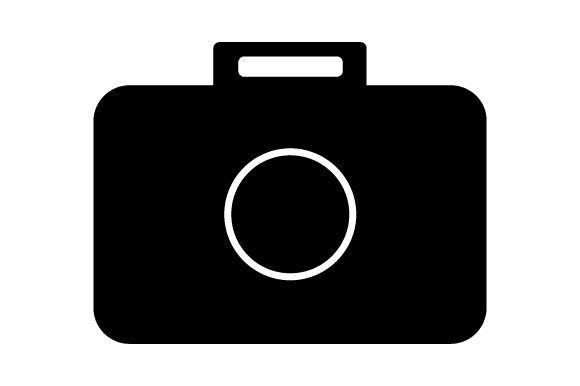 Download Free Camera Icon Graphic By Marco Livolsi2014 Creative Fabrica for Cricut Explore, Silhouette and other cutting machines.