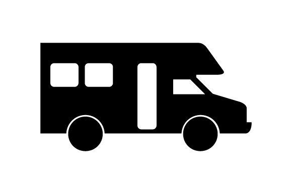 Download Free Camper Icon Graphic By Marco Livolsi2014 Creative Fabrica for Cricut Explore, Silhouette and other cutting machines.