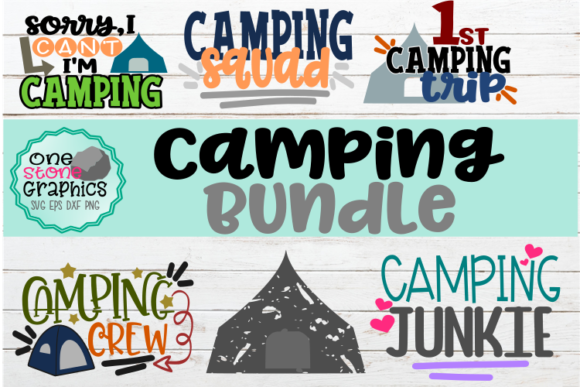 Camping Bundle Svg Graphic Crafts By OneStoneGraphics - Image 1