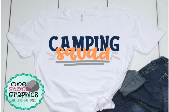 Download Free Camping Squad Svg Graphic By Onestonegraphics Creative Fabrica for Cricut Explore, Silhouette and other cutting machines.