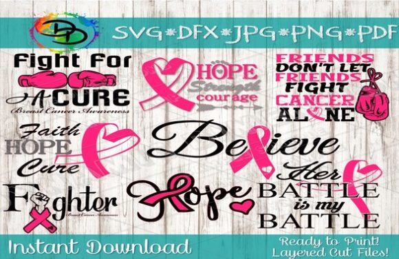 Print on Demand: Cancer Awareness Bundle Graphic Infographics By dynamicdimensions