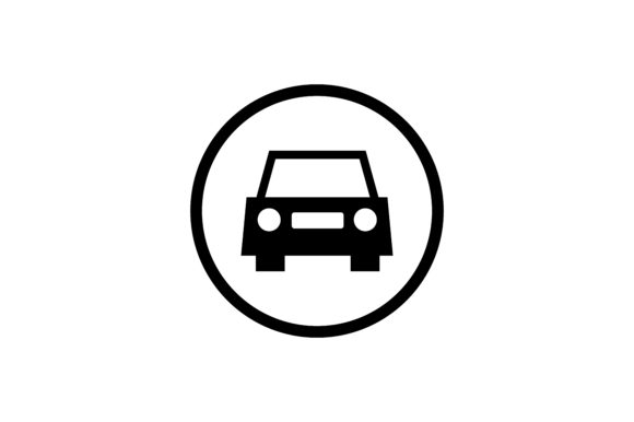Download Free Car Icon Graphic By Zafreeloicon Creative Fabrica for Cricut Explore, Silhouette and other cutting machines.