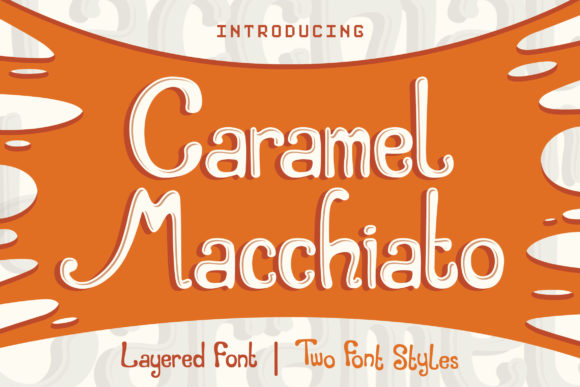 Print on Demand: Caramel Macchiato Display Font By Orenari