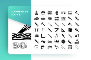 Carpenter Icon Packs Graphic By Goodware.Std