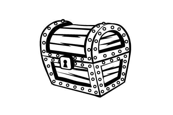 Cartoon Treasure Chest Svg Cut File By Creative Fabrica Crafts