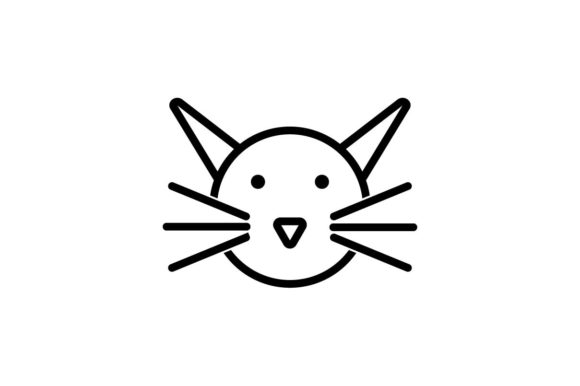 Download Free Cat Icon Pet Animal Icon Vector Graphic By Hoeda80 Creative for Cricut Explore, Silhouette and other cutting machines.