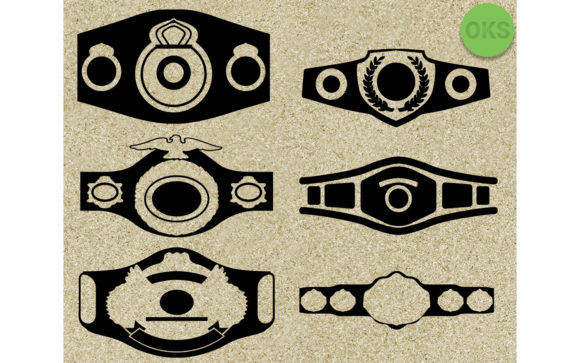 Download Free Championship Belt Vector Clipart Graphic By Crafteroks for Cricut Explore, Silhouette and other cutting machines.