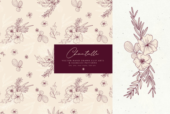 Print on Demand: Chantalle Flowers Graphic Illustrations By webvilla - Image 2