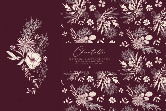 Print on Demand: Chantalle Flowers Graphic Illustrations By webvilla - Image 3