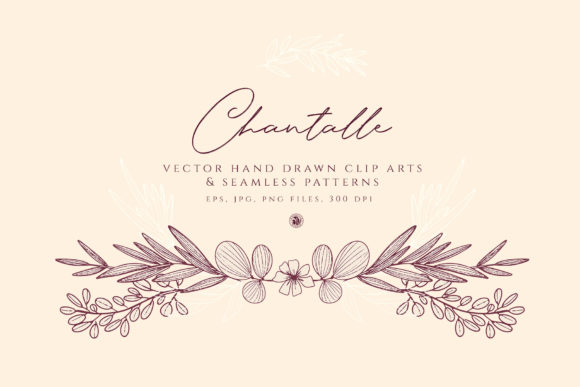 Print on Demand: Chantalle Flowers Graphic Illustrations By webvilla - Image 4