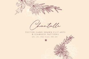 Chantalle Flowers Graphic By webvilla
